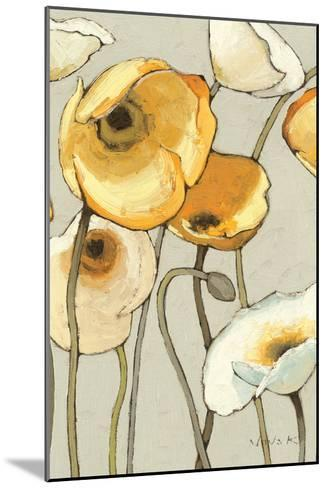 Jaune Gris II Crop-Shirley Novak-Mounted Art Print