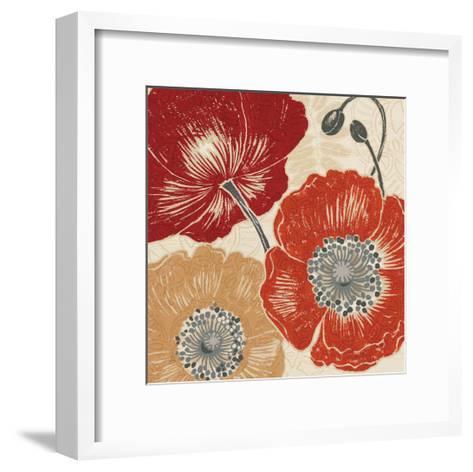 A Poppys Touch II-Daphne Brissonnet-Framed Art Print