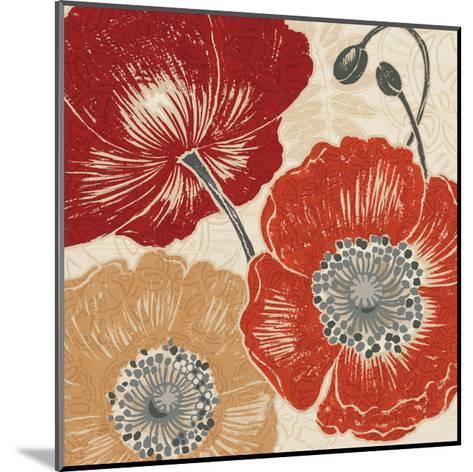 A Poppys Touch II-Daphne Brissonnet-Mounted Art Print