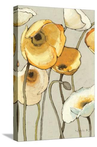 Jaune Gris II Crop-Shirley Novak-Stretched Canvas Print