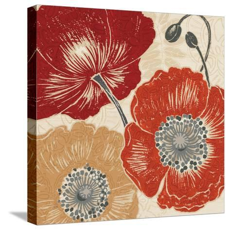 A Poppys Touch II-Daphne Brissonnet-Stretched Canvas Print