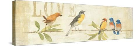 Adoration of the Magpie Panel I-Avery Tillmon-Stretched Canvas Print