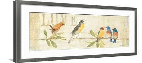 Adoration of the Magpie Panel I-Avery Tillmon-Framed Art Print