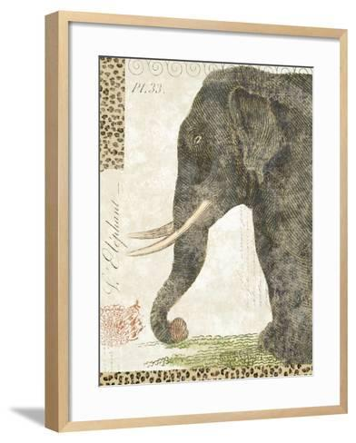 L'Elephant-Hugo Wild-Framed Art Print