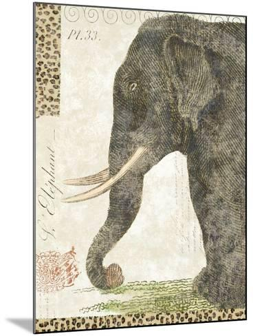 L'Elephant-Hugo Wild-Mounted Art Print