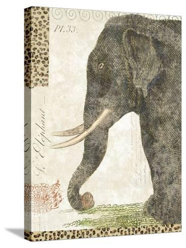 L'Elephant-Hugo Wild-Stretched Canvas Print