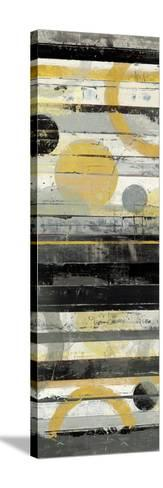 Yellow Zephyr Panel-Mike Schick-Stretched Canvas Print
