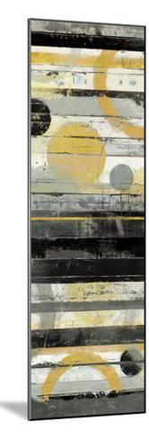 Yellow Zephyr Panel-Mike Schick-Mounted Premium Giclee Print