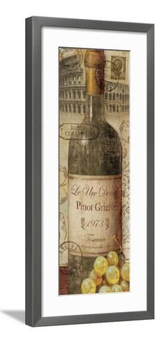 European Wines I--Framed Art Print