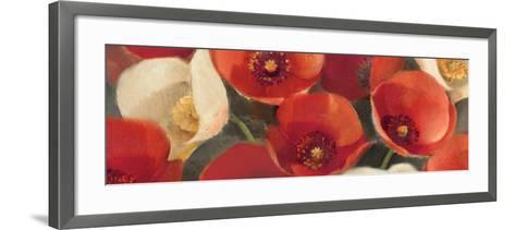Poppies Bloom I-Albena Hristova-Framed Art Print