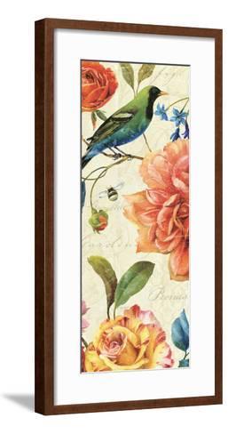 Rainbow Garden VI-Lisa Audit-Framed Art Print