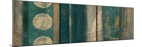 Bora Blue-Roque Silva-Mounted Premium Giclee Print