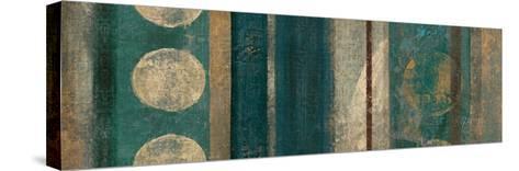 Bora Blue-Roque Silva-Stretched Canvas Print