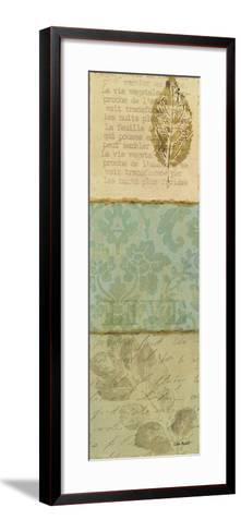 Forest Walk Panel II-Lisa Audit-Framed Art Print