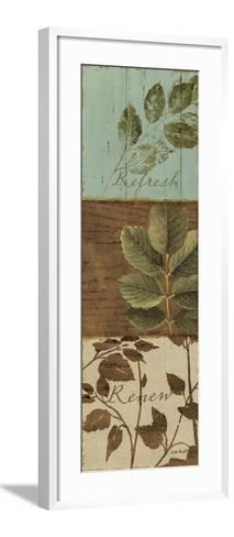 Forest Walk Panel III-Lisa Audit-Framed Art Print