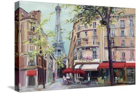 Springtime in Paris-Hageman Marilyn-Stretched Canvas Print