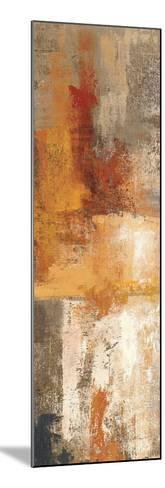 Silver and Amber Panel I--Mounted Premium Giclee Print