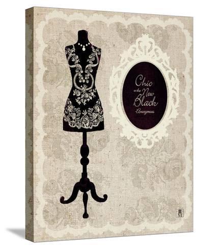 Dress Form I-Sarah Mousseau-Stretched Canvas Print