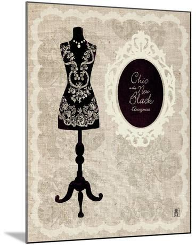 Dress Form I-Sarah Mousseau-Mounted Premium Giclee Print