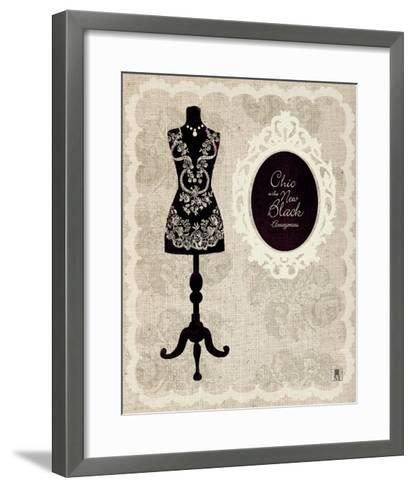 Dress Form I-Sarah Mousseau-Framed Art Print