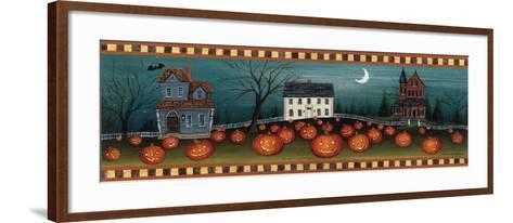 Halloween Eve Crescent Moon-David Carter Brown-Framed Art Print