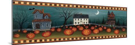 Halloween Eve Crescent Moon-David Carter Brown-Mounted Premium Giclee Print