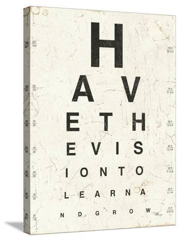 Eye Chart II-Jess Aiken-Stretched Canvas Print