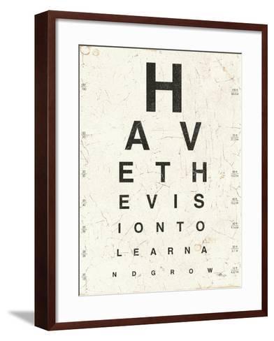 Eye Chart II-Jess Aiken-Framed Art Print