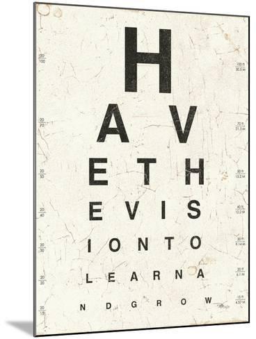 Eye Chart II-Jess Aiken-Mounted Art Print