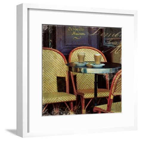 Parisian Cafe I-Wild Apple Photography-Framed Art Print