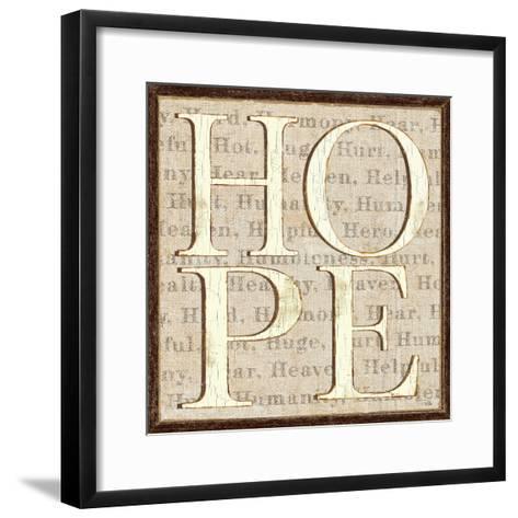 H is for Hope-Pela Design-Framed Art Print