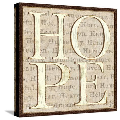 H is for Hope-Pela Design-Stretched Canvas Print