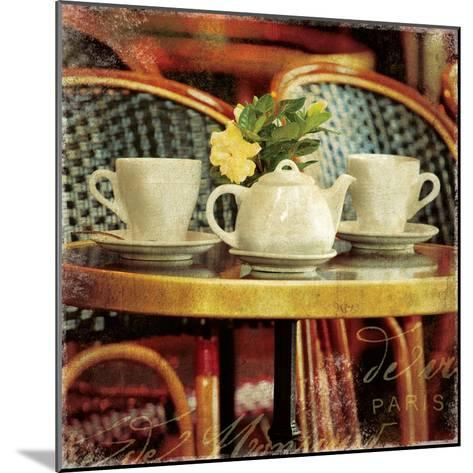 Parisian Cafe II-Wild Apple Photography-Mounted Art Print