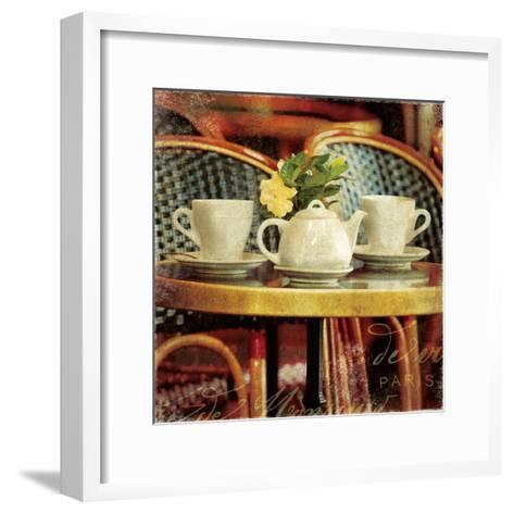 Parisian Cafe II-Wild Apple Photography-Framed Art Print