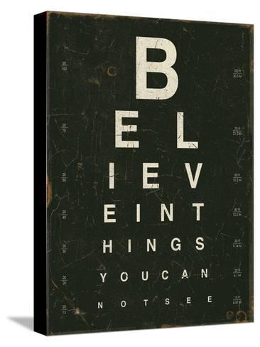 Eye Chart III-Jess Aiken-Stretched Canvas Print