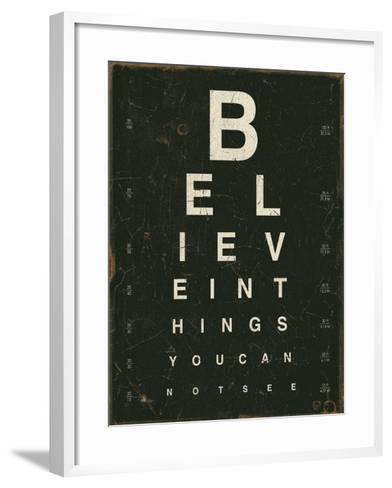 Eye Chart III-Jess Aiken-Framed Art Print