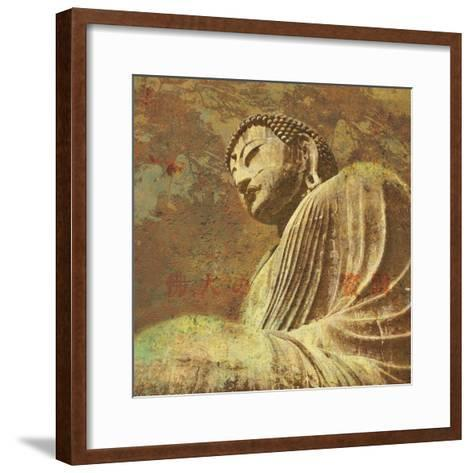 Asian Buddha II-Hugo Wild-Framed Art Print