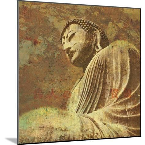 Asian Buddha II-Hugo Wild-Mounted Art Print