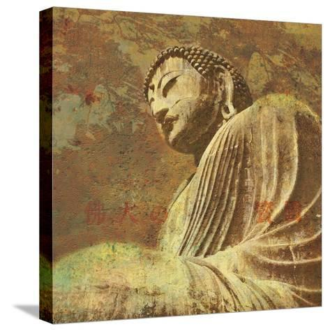 Asian Buddha II-Hugo Wild-Stretched Canvas Print
