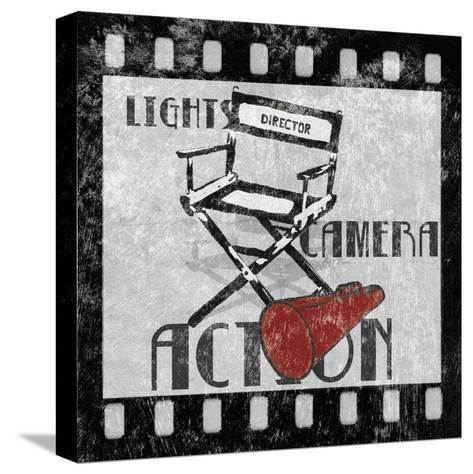 Lights Camera Action-Hugo Wild-Stretched Canvas Print