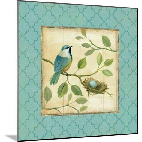 Birds Home I-Daphne Brissonnet-Mounted Art Print