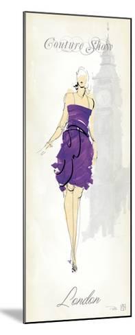 Fashion Lady III-Avery Tillmon-Mounted Premium Giclee Print
