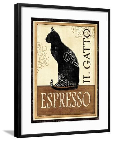 Il Gatto-Veronique Charron-Framed Art Print