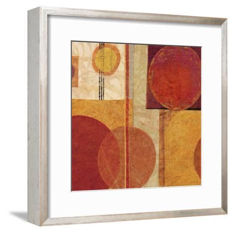 Geo Tea I-Sue Schlabach-Framed Art Print