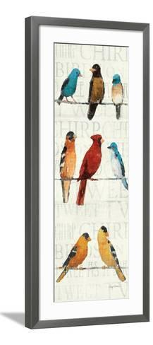 The Usual Suspects Panel II-Avery Tillmon-Framed Art Print