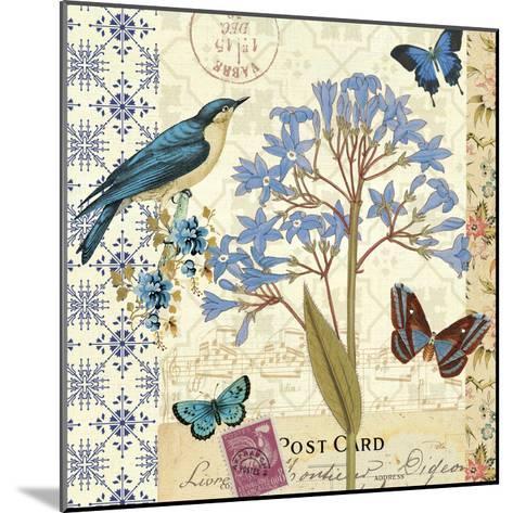 Blue Notes I-Pela Design-Mounted Premium Giclee Print