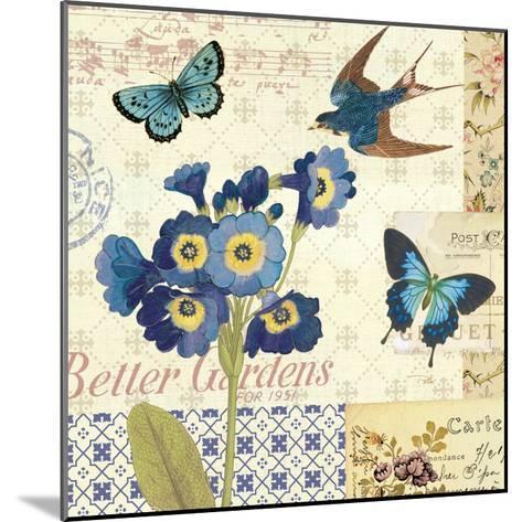 Blue Notes IV-Pela Design-Mounted Premium Giclee Print