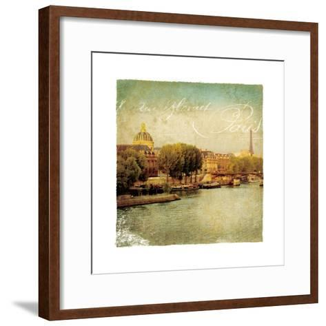 Golden Age of Paris V-Wild Apple Photography-Framed Art Print