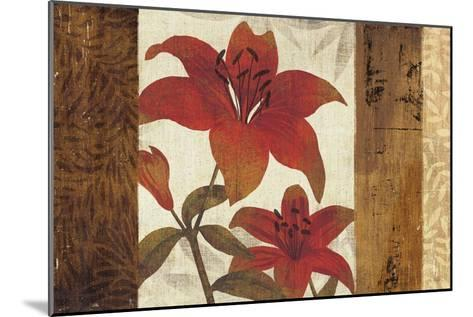 Floral Harmony I-Mo Mullan-Mounted Art Print
