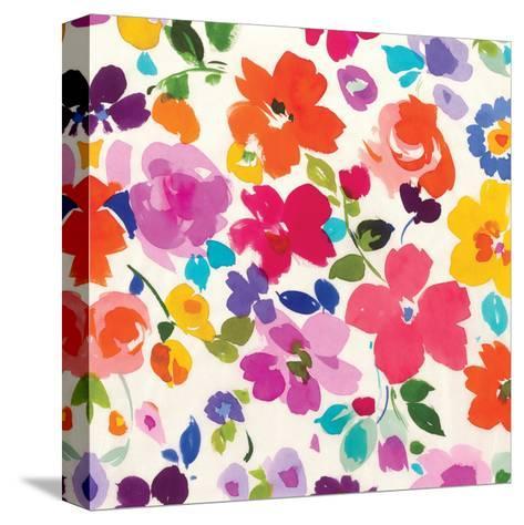 Bright Florals  I-Hugo Wild-Stretched Canvas Print
